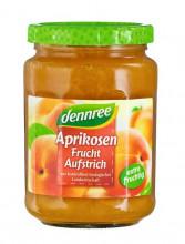 dennree, Fruchtaufstrich Aprikose, 340g Glas