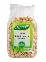 dennree, Soja-Schnetzel, grob, 150g Packung