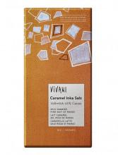 Vivani Bio-Genuss, Caramel Inka Salz, 80g Packung