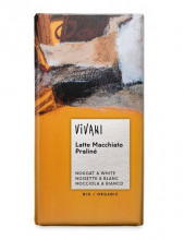 Vivani Bio-Genuss, Latte Macchiato Praliné, 100g Packung
