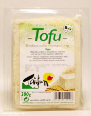 Taifun, Tofu Natur, traditionelle Herstellung, 200g Packung