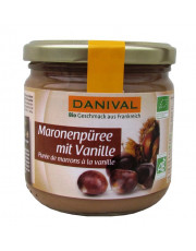 Danival, Maronenpüree mit Vanille, 380g Glas
