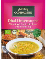 Natur Compagnie, Dhal Linsensuppe, 60g Beutel