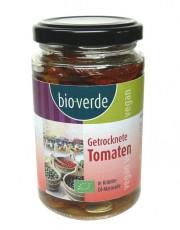 bio verde, Getrocknete Tomaten mit Basilikum, 200g Glas