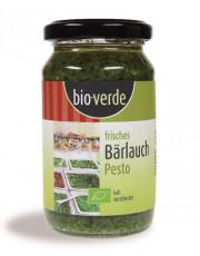 bio verde, Frisches Bärlauch Pesto, 165g Glas