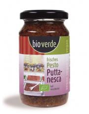 bio verde, Frisches Pesto Puttanesca, 165g Glas