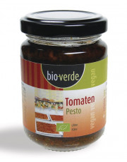 bio verde, Tomaten-Pesto, 125ml Glas