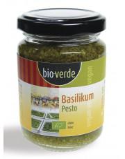 bio verde, Basilikum-Pesto, 125ml Glas