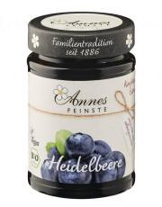 Annes Feinste, Heidelbeer Konfitüre extra, 225g Glas