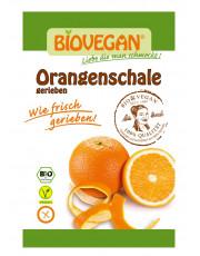 Biovegan, geriebene Orangenschale, 9g Beutel