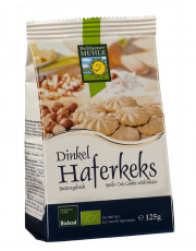 Bohlsener Mühle, Dinkel-Hafer-Kekse, 125g Packung