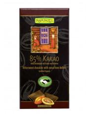 Rapunzel, 85% Kakao Bitterschokolade, 80g Tafel