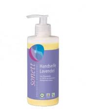 Sonett, Handseife Lavendel mit Dosierspender, 300 ml Flasche