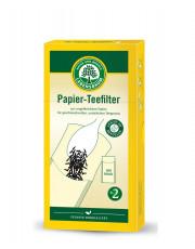 LEBENSBAUM, Papierteefilter Gr. 2, 100 Stück, Packung