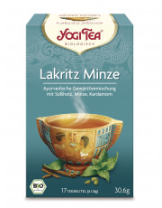 Golden Temple, Yogi Tea Lakritz Minze, 1,8g, 17 Btl Packung