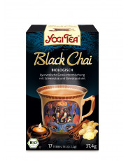 Golden Temple, Yogi Tee Black Chai, 2,2g, 17 Btl Packung