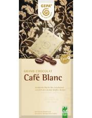 Gepa, Café Blanc, weiße Schokolade Café Benita, 100g Tafel