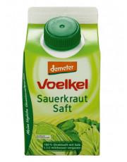 Voelkel, Sauerkrautsaft, milchsauer vergoren, demeter, 0,5 l Elopak