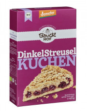 Bauckhof, Dinkel-Streuselkuchen, demeter, 425g Packung