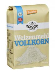 Bauckhof, Weizenvollkornmehl, 1kg Packung