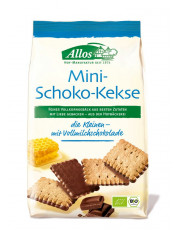 Allos, Mini-Schoko-Kekse, 125g Packung