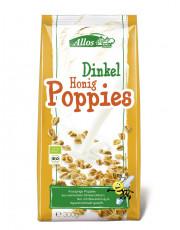 Allos, Dinkel-Honig-Poppies, 300g Packung