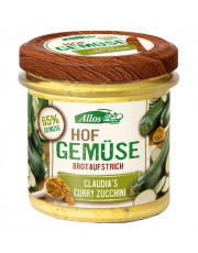 Allos, Hofgemüse Claudia`s Curry-Zucchini, 135 gr Glas