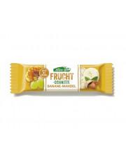 Allos, Fruchtschnitte-Banane-Mandel, 30g Stück