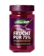 Allos, Frucht pur 75% Amarenakirsche, 250g Glas