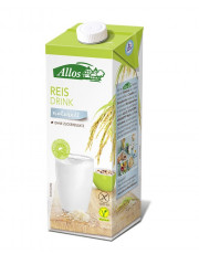 Allos, Reis Drink naturell, 1l Tetra Pack