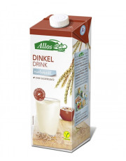 Allos, Dinkel Drink naturell, 1l Tetra Pack