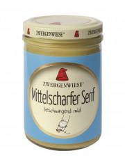 Zwergenwiese, Mittelscharfer Senf, 160ml Glas