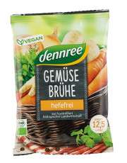 dennree, Gemüsebrühe hefefrei, 250g Packung