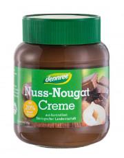 dennree, Nuss Nougat Creme, 400g Glas