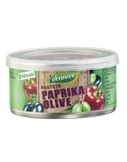 dennree, Pastete Paprika Olive, 125g Dose