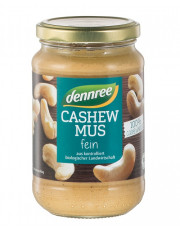dennree, Cashewmus fein, 350g Glas