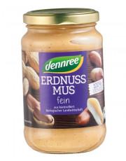 dennree, Erdnussmus fein, 350g Glas
