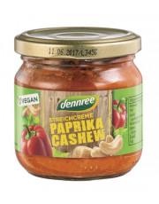 dennree, Streichcreme Paprika Cashew, 180g Glas