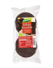 dennree, Reiswaffeln mit Zartbitterschokolade, 100g Packung