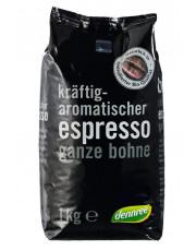 Dennree, Espresso, ganze Bohne, 1kg Packung