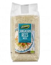 dennree, Langkorn Reis, weiß, 1kg Packung