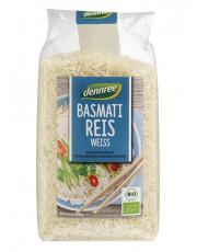 dennree, Basmati Reis weiß, 500g Packung
