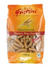 Gustoni, Dinkel Maccheroni, bronze, 500g Packung