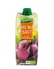 dennree, Rote Bete Saft, 0,5 l Elopak