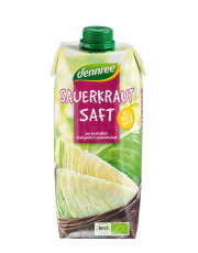 dennree, Sauerkrautsaft, 0,5 l Elopak