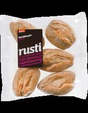 Herzberger Bäckerei, demeter Rusti, zum Fertigbacken, 5 Stück Beutel (à 50g)