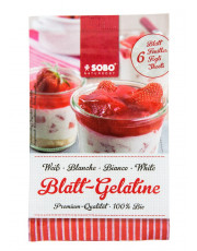 Sobo, Bio-Blattgelatine, 10g Beutel