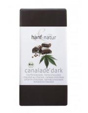 Hanf und Natur, Canalade dark, 100g Tafel
