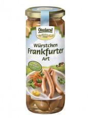 Ökoland, 6 Würstchen Frankfurter Art, 540g Glas