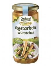 Ökoland, 5 Vegetarische Würstchen, 380g Glas